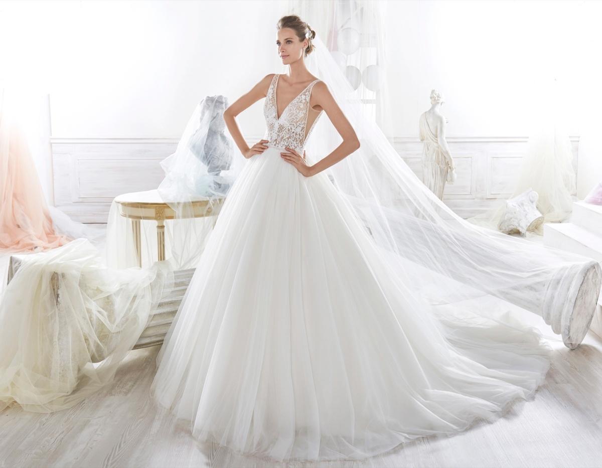 Abiti Da Sposa 2018 Principeschi.Abito Principesco Nicole Spose 2018 Il Matrimonio Perfetto