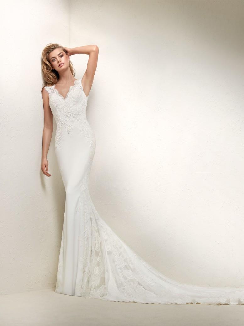 2361c64fe826 Quanto costa un abito Pronovias 2018  – Il matrimonio perfetto