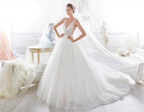 lowest price 15509 3390c Nicole Spose: abiti e prezzi della collezione 2018 – Il ...